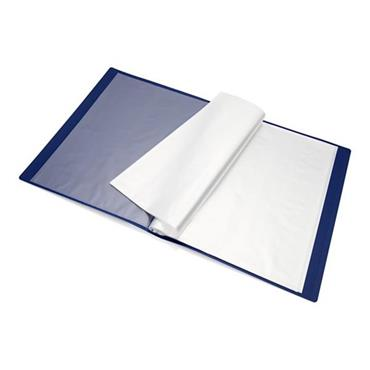 PREMTO A4 40 POCKET DISPLAY BOOK - ADMIRAL BLUE
