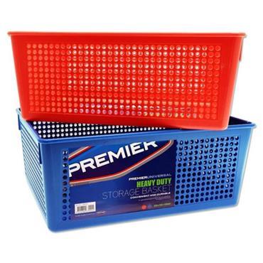 PREMIER UNIVERSAL STORAGE BASKET - 2 ASST. 338x250x139mm
