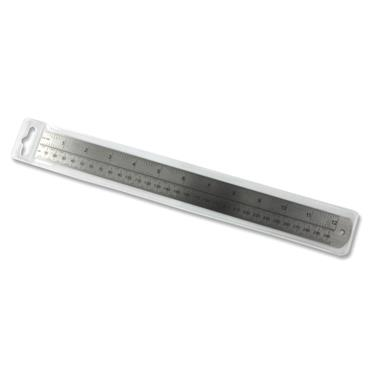 "Premier 12""/30cm Deadlength Steel Ruler"
