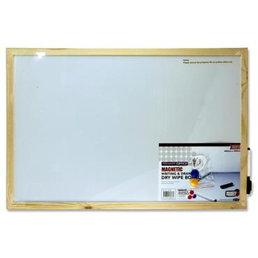 Premier Office Magnetic Whiteboard 60x40cm