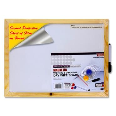 Premier Office Magnetic Whiteboard 40x30cm