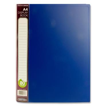 PREMIER OFFICE A4 80 POCKET DISPLAY BOOK CDU