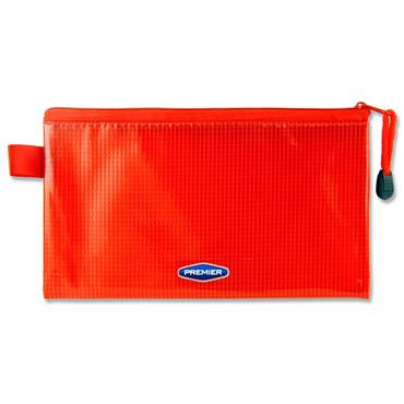 Premier Office Dl Extra Durable Mesh Wallet - Ketchup Red