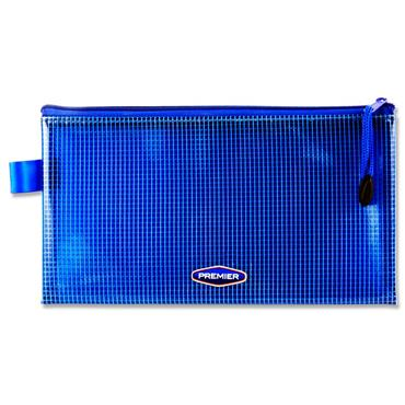 Premier Office Dl Extra Durable Mesh Wallet - Prnters Blue