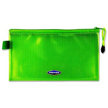 Premier Office Dl Extra Durable Mesh Wallet - Green