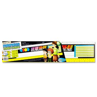 """Clever Kidz Teacher's Aid Reference Name Plates 3.75""""x18"""" - 3rd Class +"""