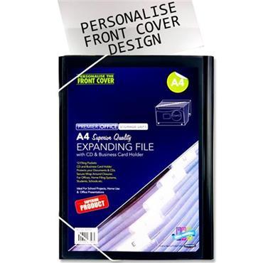 Premier Office A4 12 Pocket Expanding File
