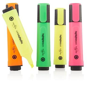 Pro:scribe Pkt.5 Highlighter Pens