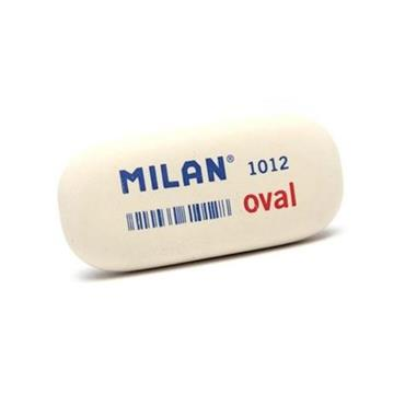 MILAN WHITE 1012 OVAL ERASER CDU