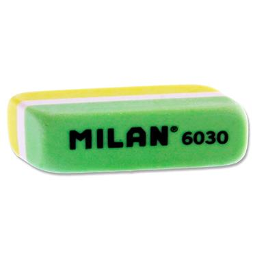 MILAN 6030 COLOURED ERASER 4 ASST. CDU
