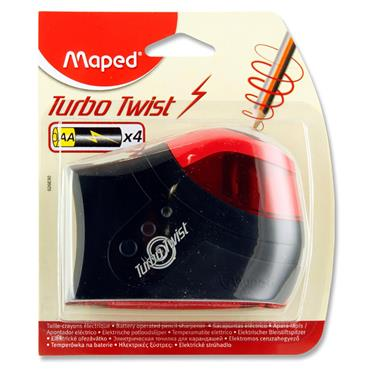 Maped Battery Operated Standard Pencil Sharpener - Carded