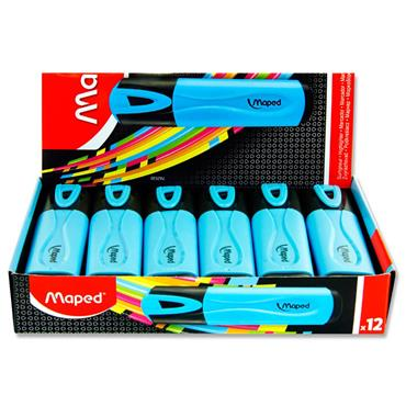MAPED FLUO'PEPS CLASSIC HIGHLIGHTER - BLUE