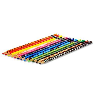 Maped Pkt.12 Color'peps Triangular Colouring Pencils - Animal