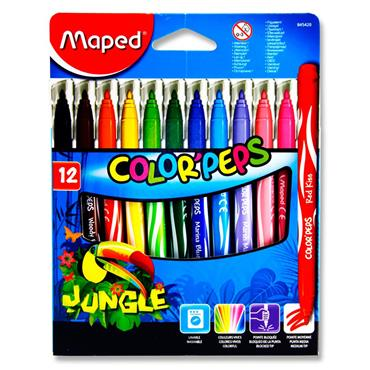 Maped Pkt.12 Color'peps Jungle Colour Markers