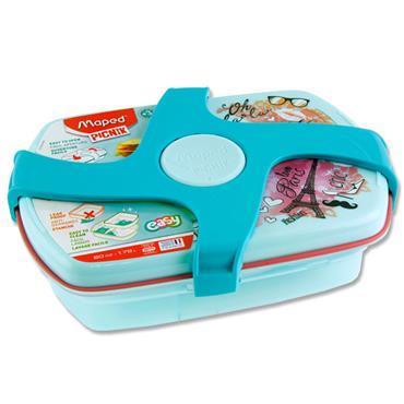Picnik Concept Twist 1.78ltr Lunch Box - Paris Fashion