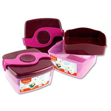 Picnik Origins Twist Sandwich Box - Pink