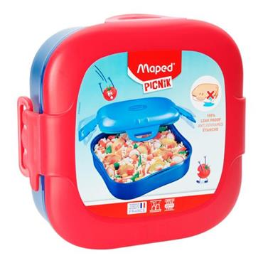 MAPED PICNIK CONCEPT KIDS FIGURATIVE LUNCH BOX - PINK