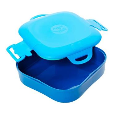 MAPED PICNIK CONCEPT KIDS FIGURATIVE LUNCH BOX - BLUE
