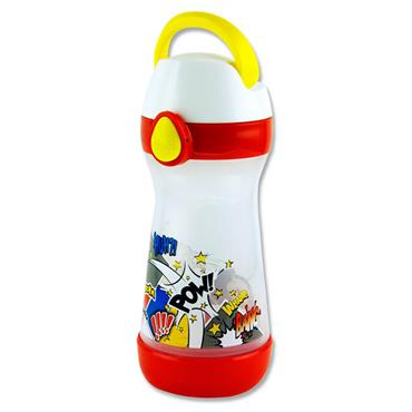 Picnik Concept 430ml Bottle With Handle - Comics