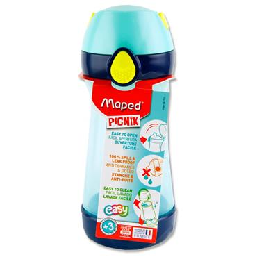 Picnik Concept 430ml Bottle With Handle - Blue/green