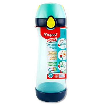 Picnik Concept 580ml Bottle With Handle - Blue/green