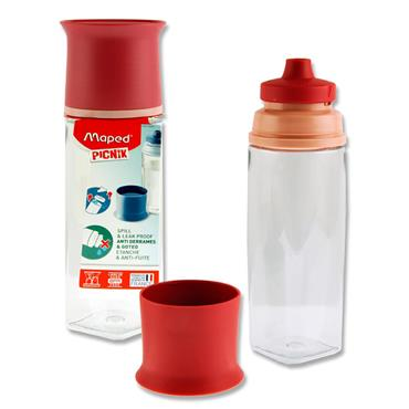 Maped Picnik Concept 500ml Bottle - Brick Red