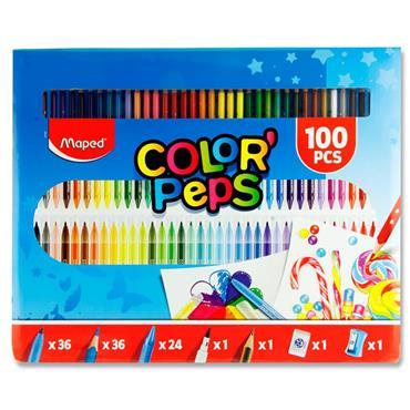 Maped Creativ 100pce Color'peps Colouring Kit