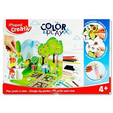 Maped Creativ Color & Play - Design My Garden