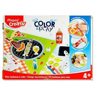 Maped Creativ Color & Play - Design My Barbecue