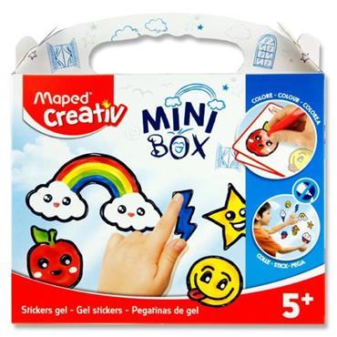 Maped Creativ Mini Box - Window Paint Gel Stickers