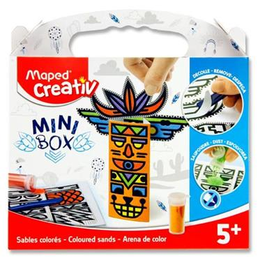 Maped Creativ Mini Box - Colour Sands Totem Poles