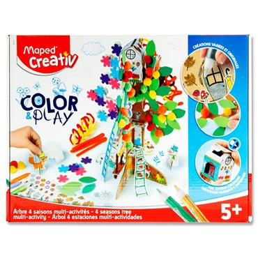 Maped Creativ Color & Play - 4 Seasons Tree