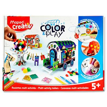 Maped Creativ Color & Play - Design Your Own Caravans
