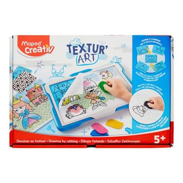 MAPED CREATIV DRAWING TABLE TEXTUR ART - CASTLE
