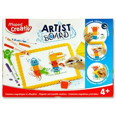 Maped Creativ Artist Board - Magnetic & Erasable Creations