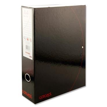 Concept Box File - Black & Red