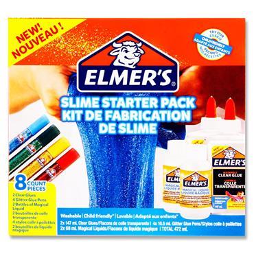 Elmers 8pce Slime Starter Pack