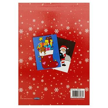 WOC A5 96pg SHOE BOX PERFORATED MY LITTLE COLOURING BOOK - CHRISTMAS