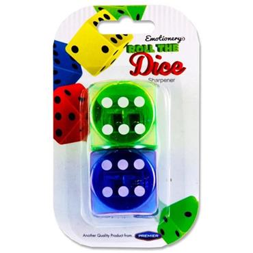Emotionery Card 2 Sharpeners - Roll The Dice