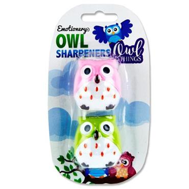Emotionery Card 2 Sharpeners - Owl Things