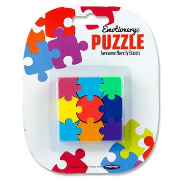 Emotionery 9pce Puzzle Eraser