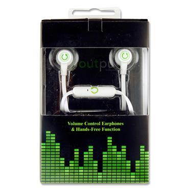 OUTPUT SERIES 3 EARPHONES - WHITE