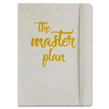 Robert Frederick A5 Flexi Journal With Elastic - The Master Plan