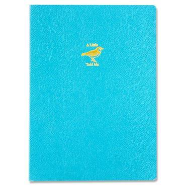Robert Frederick A5 Flexi Journal With Ribbon - A Little Bird Told Me