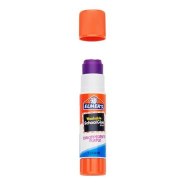 ELMERS CARD 4x7g DISAPPEARING GLUE STICKS - PURPLE