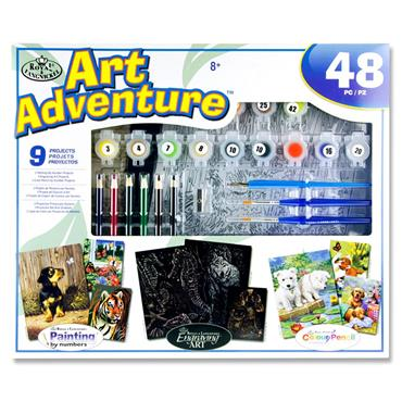 ART ADVENTURE SUPER VALUE SET 4 ASST.