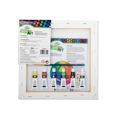 Canvas Art 9pce Create & Enjoy Painting Set - Fish