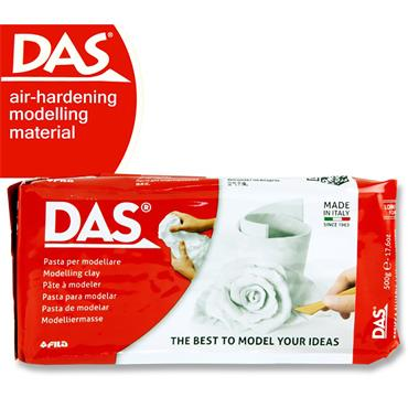 Das 1/2kg White Air Hardening Modelling Clay