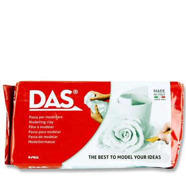 Das 1kg White Air Hardening Modelling Clay