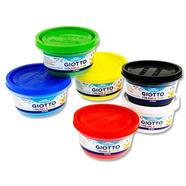Giotto Box 6x100ml Finger Paints